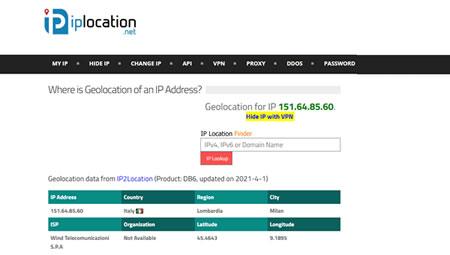 IP Location