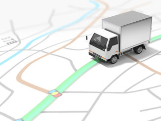 Localizzatore satellitare per camion